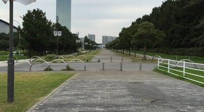 Photo of Trail QVCマリンフィールド前歩道 at 美浜・豊砂, Chiba 261-0022, Japan