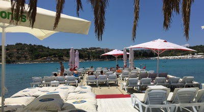 Photo of Beach Bar White Beach at Ayayorgi Çeşme, İzmir, Turkey