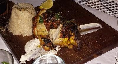 Photo of Greek Restaurant Athens Restaurant & Bar at 707 Danforth Ave., Toronto, Canada