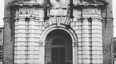 Photo of Monument / Landmark Porta Paola at Piazza Del Travaglio, Ferrara 44121, Italy