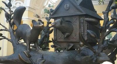 Photo of Outdoor Sculpture Домик куницы at Ул. Ленина, Уфа, Russia