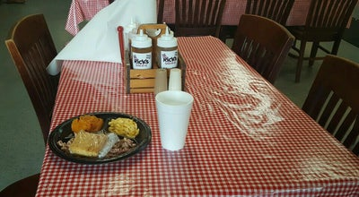 Photo of BBQ Joint Rick's Bar-B-Q at 204 6th St Sw, Winter Haven, FL 33880, United States