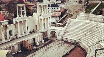 Photo of Historic Site Античният театър на Филипопол (The ancient theatre of Philippopolis) at Ул. Цар Ивайло & Ул. Хемус, Пловдив, Bulgaria