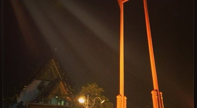 Photo of Monument / Landmark เสาชิงช้า (Giant Swing) at Dinso Rd., Phra Nakhon 10200, Thailand