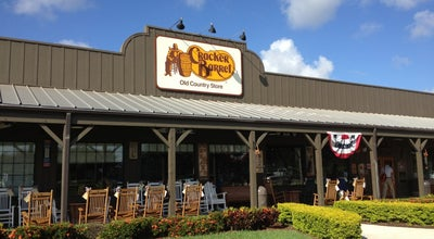 Photo of American Restaurant Cracker Barrel Old Country Store at 2411 Metrocentre Blvd. I-95 & 45th St., West Palm Beach, FL 33407, United States