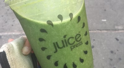 Photo of Juice Bar Juice Press at Gansevoort at 420 Park Ave S, New York, NY 10016, United States