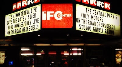 Photo of Indie Movie Theater IFC at 323 Avenue Of The Americas, New York, NY 10014, United States