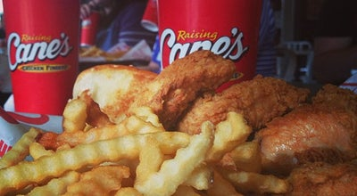 Photo of Fried Chicken Joint Raising Cane's Chicken Fingers at 907 University Ave, Lubbock, TX 79401, United States