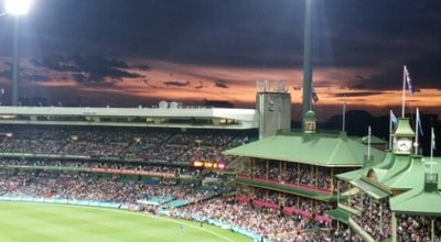 Photo of Cricket Ground Members Pavilion at Scg, Moore Park, NS 2021, Australia