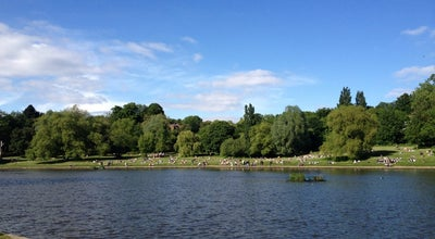 Photo of Lake Hampstead Heath Ponds at South End Green, Hampstead NW3, United Kingdom