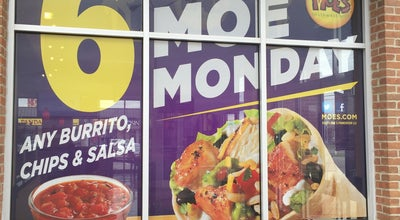 Photo of Mexican Restaurant Moe's Southwestern Grill at 1478 Bethel Rd, Columbus, OH 43220, United States