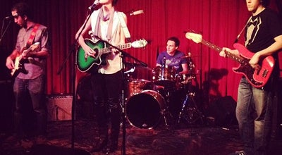 Photo of Music Venue Hotel Cafe at 1623 1/2 N Cahuenga Blvd, Los Angeles, CA 90028, United States