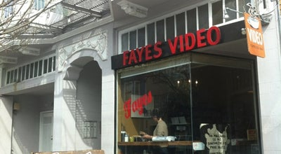 Photo of Video Store Fayes Video & Espresso Bar at 3614 18th St, San Francisco, CA 94110, United States
