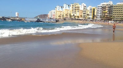 Photo of Beach Playa de Las Canteras Zona Cìcer at C/el Salvador, Las Palmas de Gran Canaria 35010, Spain