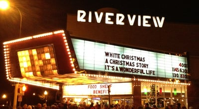 Photo of Indie Movie Theater Riverview Theater at 3800 42nd Ave S, Minneapolis, MN 55406, United States