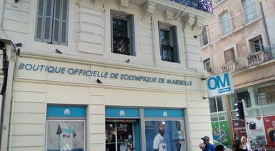 Photo of Tourist Attraction Boutique Officielle de L'O.M. at 44 La Canebiere, Marseille 13001, France