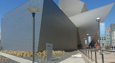 Photo of Art Museum Denver Art Museum at 100 W 14th Avenue Pkwy, Denver, CO 80204, United States