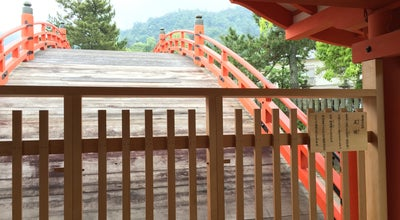 Photo of Historic Site 反橋(勅使橋) at 宮島町1-1, Hatsukaichi 739-0588, Japan