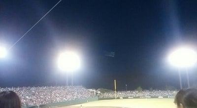 Photo of Baseball Field 岩手県営野球場 at 三ツ割4丁目9番2号, 盛岡市, Japan