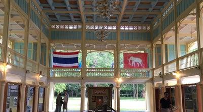 Photo of Historic Site พระที่นั่งสโมสรเสาวกามาตย์ at พระราชนิเวศน์มฤคทายวัน, Thailand