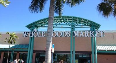 Photo of Supermarket Whole Foods Market at 21105 Biscayne Blvd, Aventura, FL 33180, United States