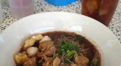 Photo of Diner ก๋วยเตี๋ยวหมูน้ำเเดงรสเจ็บ at Thailand