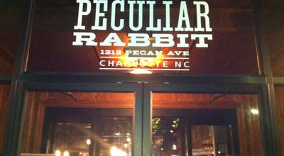Photo of Gastropub The Peculiar Rabbit at 1212 Pecan Ave, Charlotte, NC 28205, United States