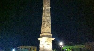 Photo of Monument / Landmark L'Obelisco at Viale Dell'università, Lecce 73100, Italy