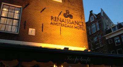 Photo of Hotel Renaissance Amsterdam Hotel at Kattengat 1, Amsterdam 1012 SZ, Netherlands