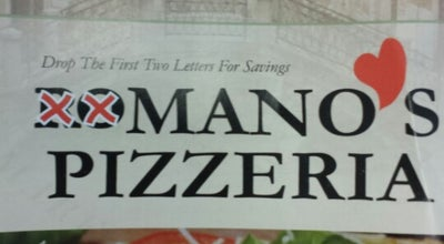 Photo of Pizza Place Mano's Pizzeria at 5 Haverhill St, Methuen, MA 01844, United States