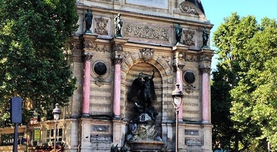 Photo of Plaza Place Saint-Michel at Place Saint-michel, Paris 75005, France