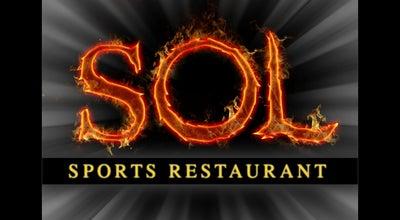 Photo of Sushi Restaurant Sol Sports Restaurant at 49291 Grapefruit Blvd #2, Coachella, CA 92236, United States