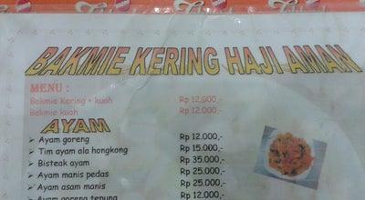 Photo of Chinese Restaurant Bakmie Kering Haji Aman  at Jl. Alianyang, Singkawang, Indonesia