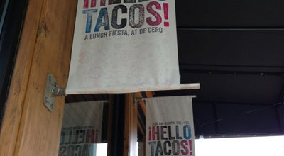 Photo of Mexican Restaurant Hello Tacos at 814 W Randolph St, Chicago, IL 60607, United States