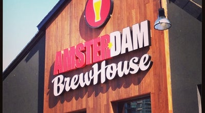 Photo of Sports Bar Amsterdam Brewhouse at 245 Queens Quay W, Toronto, ON M5J 2K9, Canada
