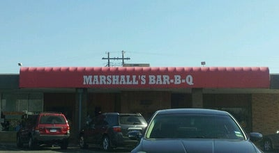 Photo of BBQ Joint Marshall's Bar-B-Q at 12895 Josey Ln, Farmers Branch, TX 75234, United States