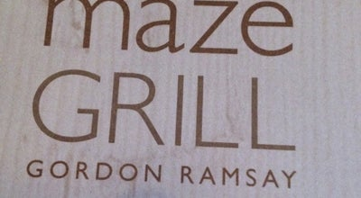 Photo of Steakhouse Maze Grill at 10-13 Grosvenor Sq, London W1K 6JP, United Kingdom