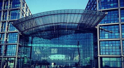 Photo of Train Station Berlin Hauptbahnhof at Europaplatz 1, Berlin 10557, Germany