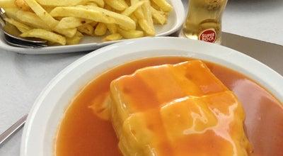 Photo of Portuguese Restaurant Requinte Francesinhas at R. Do Godinho, 837, Matosinhos 4450, Portugal
