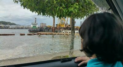 Photo of Pedestrian Plaza Waterfront Bandar Seri Begawan at Jeti Dermaga Bekas Kastam Dan Eksais Diraja, Bandar Seri Begawan, Brunei