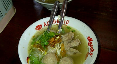 "Photo of Dumpling Restaurant Pondok Bakso ""Dua Dara"" at Depan Rs.karya Husada Cikampek, Cikampek 41373, Indonesia"