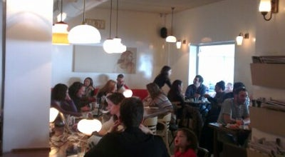 Photo of Cafe Nechama VaHetzi (נחמה וחצי) at 144 Ahad Ha'am St (habima Square), Tel Aviv 6425320, Israel