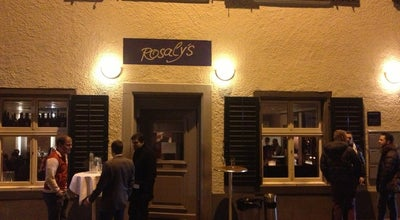 Photo of Swiss Restaurant Rosaly's Restaurant & Bar at Freieckgasse 7, Zürich 8001, Switzerland