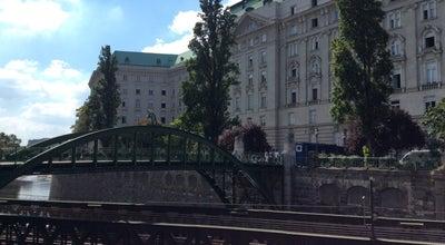 Photo of Bridge Zollamtssteg at Zollamtssteg, Vienna, Austria