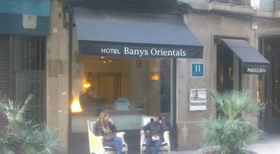 Photo of Hotel Banys Orientals Hotel Barcelona at Carrer Argenteria 37, Barcelona 08003, Spain