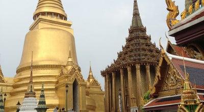 Photo of Buddhist Temple วัดพระศรีรัตนศาสดาราม (Temple of the Emerald Buddha) วัดพระแก้ว at Na Phra Lan Rd, Phra Nakhon 10200, Thailand