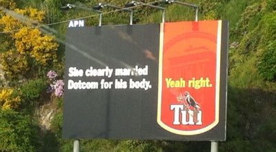Photo of Monument / Landmark Tui Billboard at Horokiwi, New Zealand