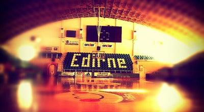 Photo of Basketball Court Mimar Sinan Spor Salonu at Abdurrahman Mah. Ataturk Blv., Edirne, Turkey