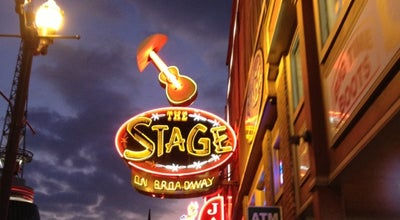 Photo of Music Venue The Stage on Broadway at 412 Broadway, Nashville, TN 37203, United States