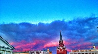 Photo of Monument / Landmark Кутафья башня / The Kutafya Tower at Московский Кремль, Москва, Russia
